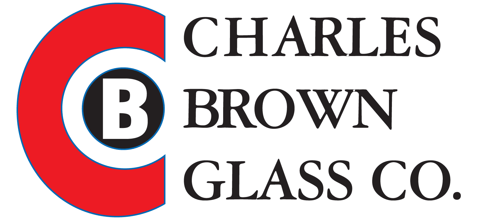 Charles Brown Glass Co. - Logo