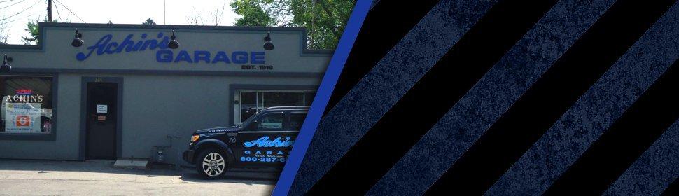 Auto Repair Services | North Attleboro, MA | Achin's Garage | 508-695-6561