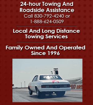 Roadside Assistance - Kerrville, TX - Jimmy's Towing Service LLC