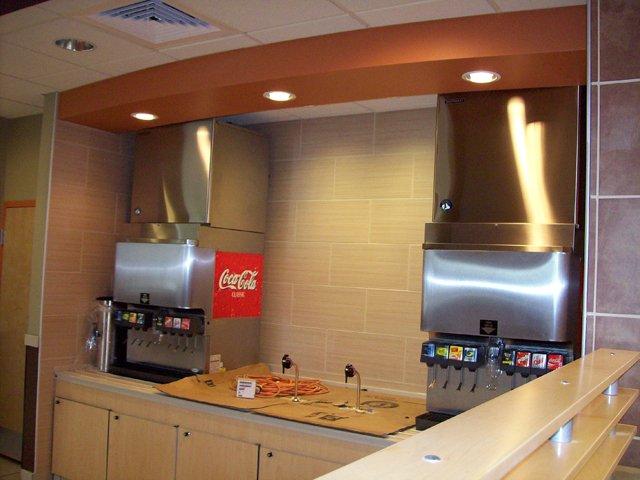 Ice makers - soda dispensing units