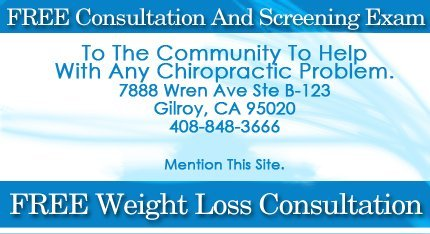 Chiropractic Clinic - Gilroy, CA  - Gilroy Chiropractic Health and Wellness Center