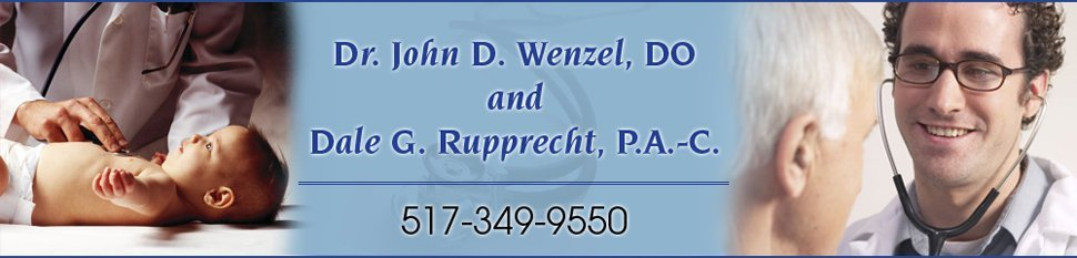 Doctor - Lansing, MI - Dr. John D. Wenzel, DO and Dale G. Rupprecht, P.A.-C.