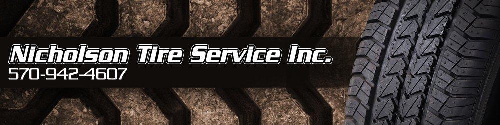 Tires - Nicholson, PA - Nicholson Tire Service Inc.