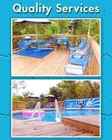 Deck Services - Anderson, IN - American Pools & Decks