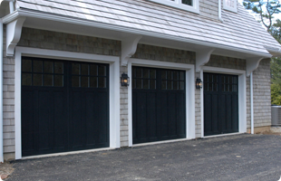 Black garage doors & Overhead Door Solutions Inc. - Garage Door Contractors | Palatine IL