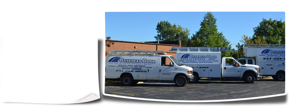 Overhead Door Solutions Inc service vehicle