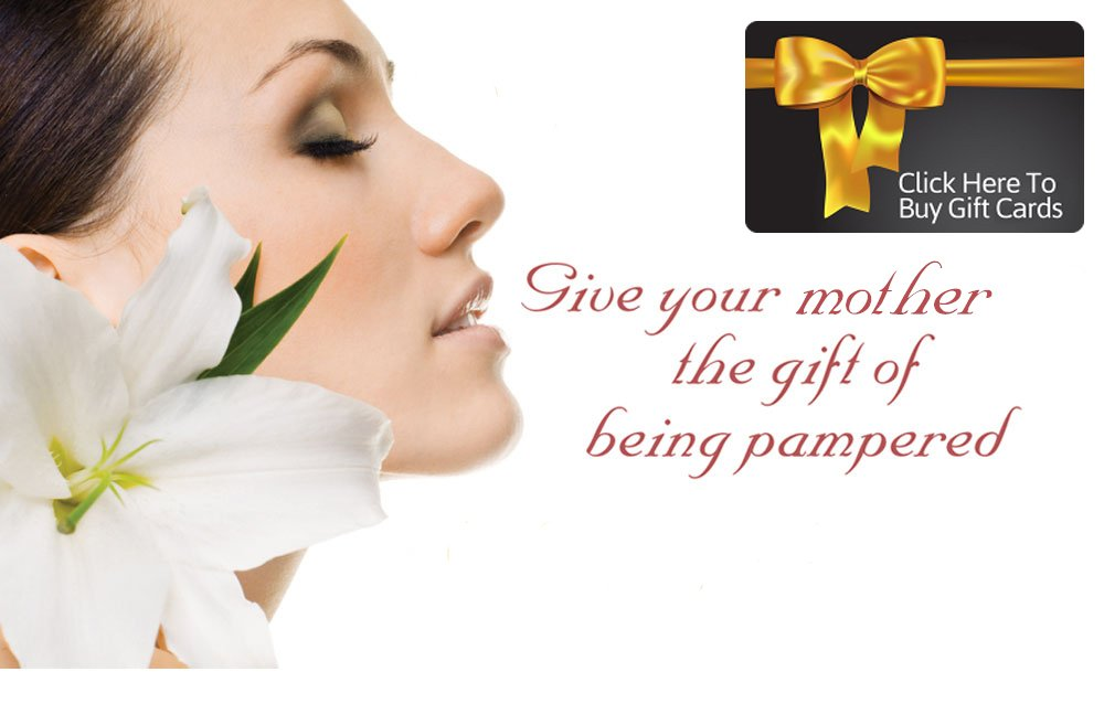 Give your mother the gift of being pampered