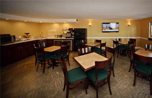 Restaurant's dining room