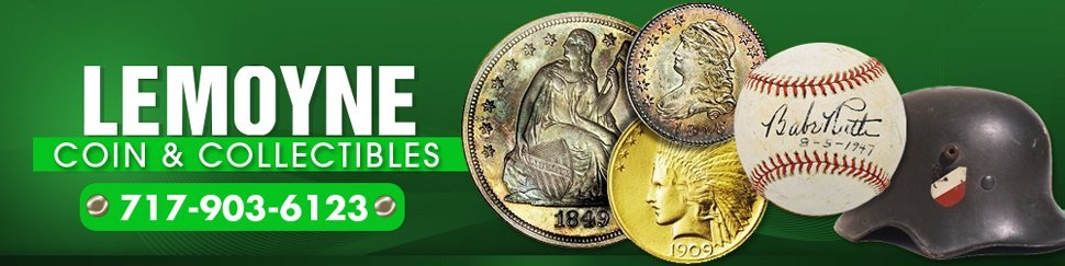 Buy and Sell Coin and Collectibles  - Lemoyne, PA - Lemoyne Coin & Collectibles