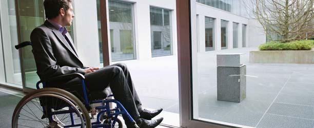 Handicapped guy