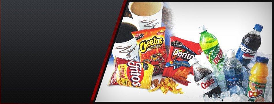 Vending Machine Snacks Beverages | Piqua, OH | Apex Vending Co | 937-381-0468