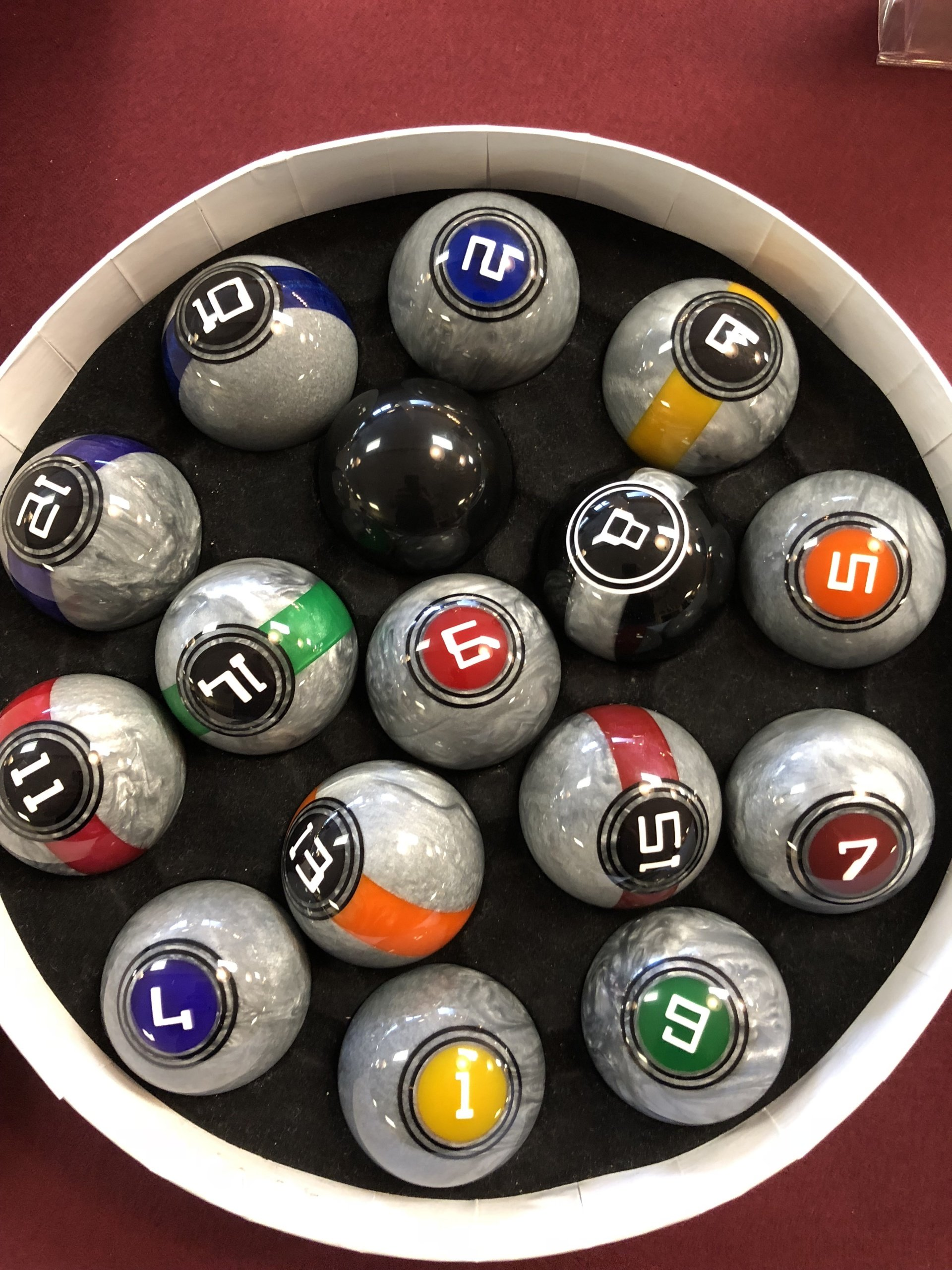 Galaxy Pool Balls