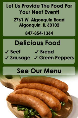 Catering - Algonquin, IL - DayGoDogs