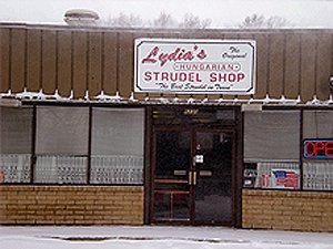 strudel - Parma Heights, OH - Lydia's Hungarian Strudel Shop - deliciousness - dishes - foodstuffs