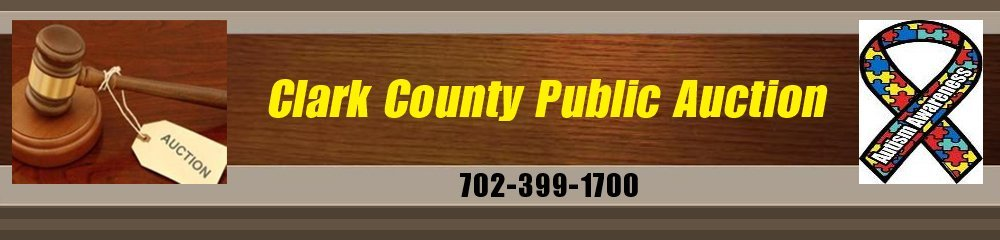 Auctioneers - Las Vegas, NV - Clark County Public Auction
