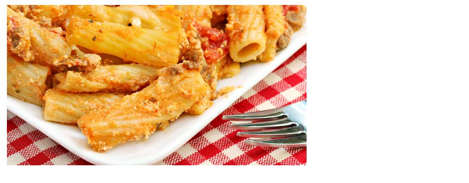 Baked italian ziti