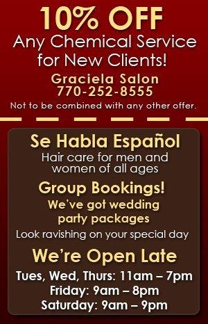 Hair Salon - Newnan, GA  - Graciela Salon