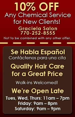 Beauty Salon - Newnan, GA  - Graciela Salon