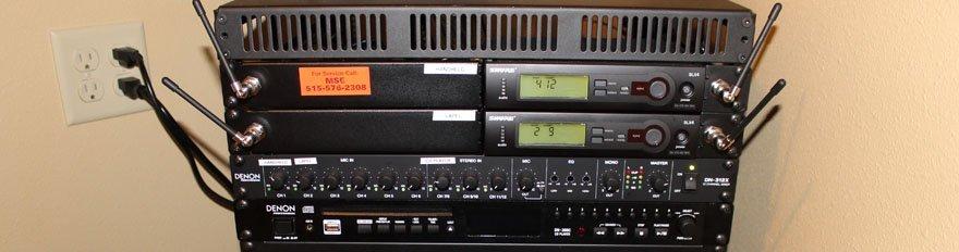 Audio-Visual System | Auditorium System | Fort Dodge IA
