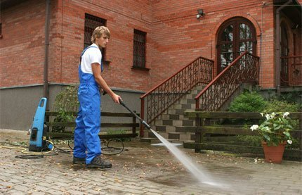 power washing available