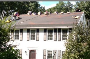 shingling roof | Sturbridge, MA  | Guaranteed Building Maintenance Co. | 508-450-7472