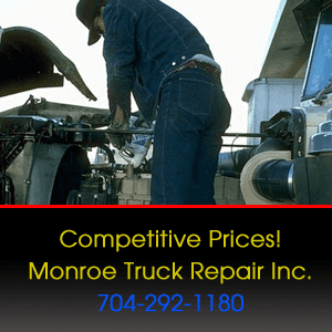 Truck Repair - Monroe, NC - Monroe Truck Repair Inc. - Competitive Prices! Monroe Truck Repair Inc. 704-292-1180