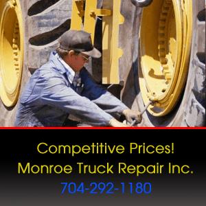 Truck Repairs  - Monroe, NC - Monroe Truck Repair Inc. - Competitive Prices! Monroe Truck Repair Inc. 704-292-1180