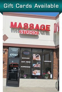 Massage Services - Chesterfield, MI - Massage Studio
