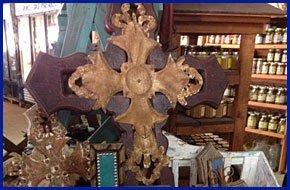 Brown wood cross