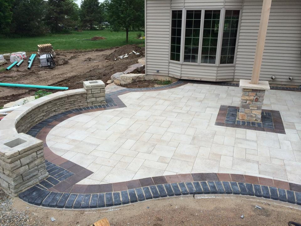 Brickwork construction