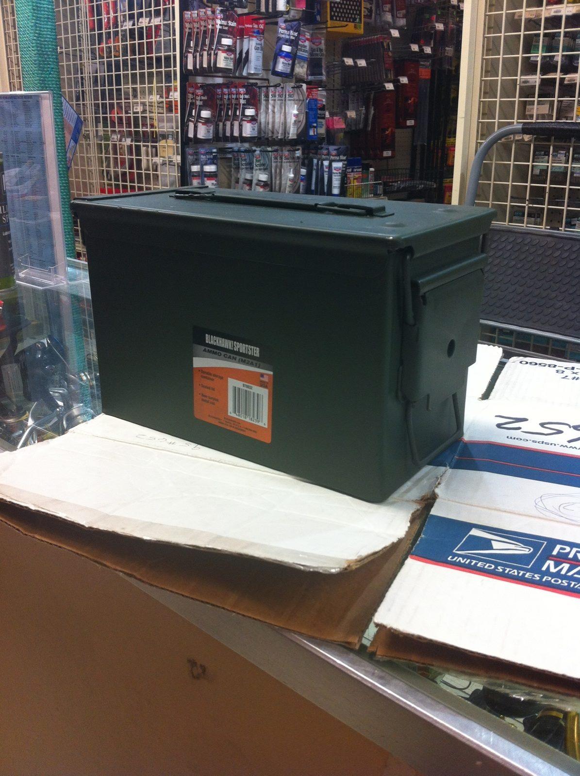 Ammo container