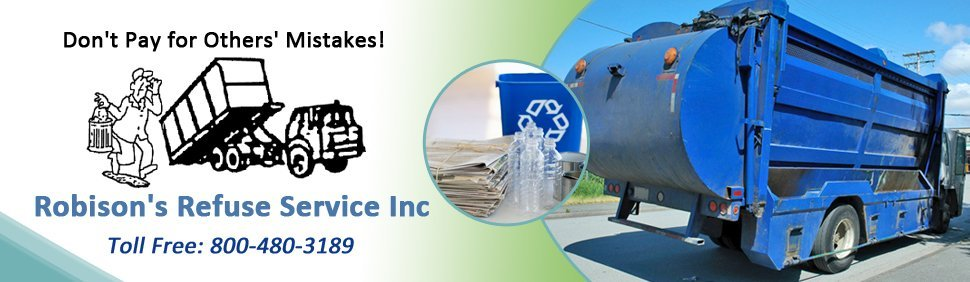 roll off containers - Robison's Refuse Service Inc - Highland, NY