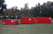 Multiple size containers