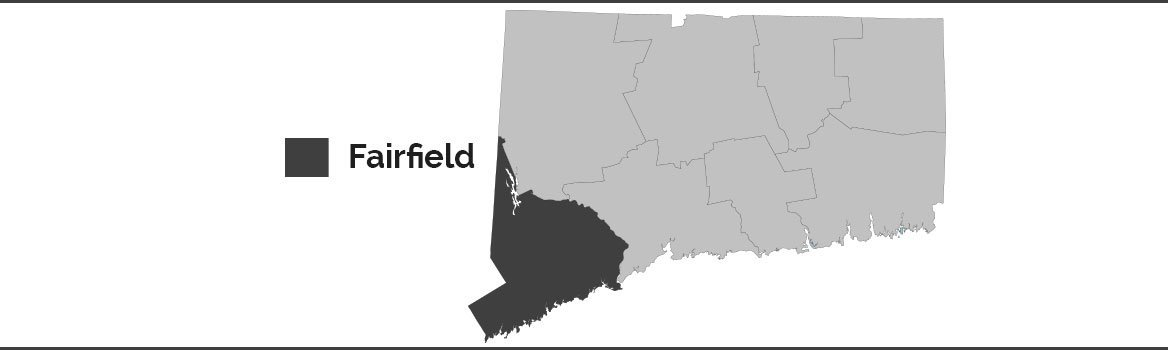 CT Bail Bonds Co. Service Area Map