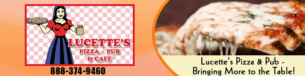 Pizza Hackensack, MN - Lucette's Pizza & Pub