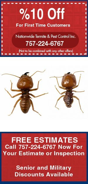 Residential Pest Control - Newport News, VA - Nationwide Termite And Pest Control Inc.