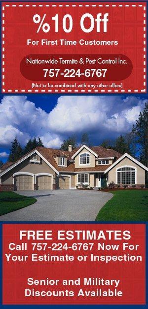 Pest Solutions - Newport News, VA - Nationwide Termite And Pest Control Inc.