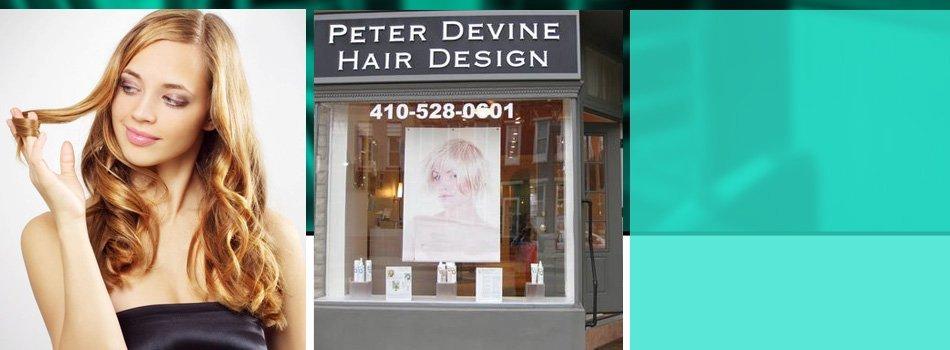 Hair Care | Baltimore, MD | Peter Devine Hair Design | 410-528-0601