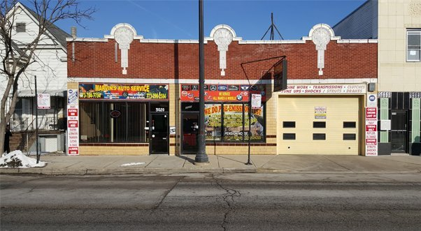 Front store