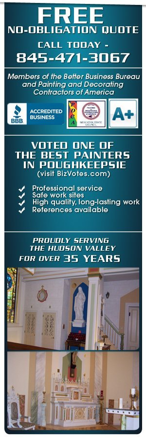Interior and Exterior Painting Contractors - Poughkeepsie, NY - Haufe Contractors