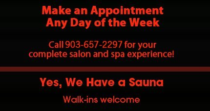 Henderson, TX  - Foxx III Salon, Spa & Boutique - Salon Spa