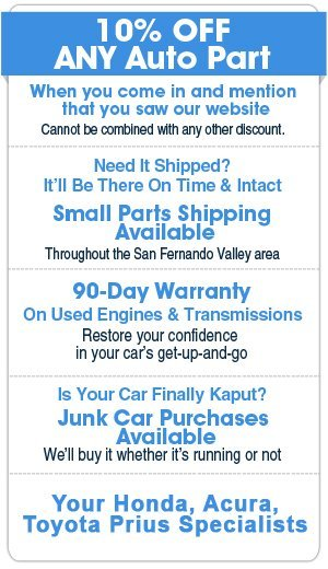 Used Car Parts - Los Angeles, CA - Chase Auto Wrecking