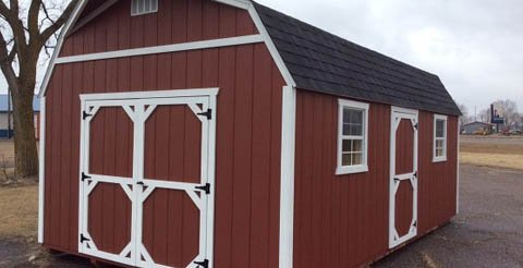 barn style shed - Garden Sheds Mn