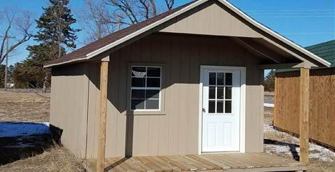 a frame cabin shed - Garden Sheds Mn