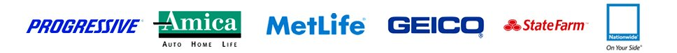 Metlife | Amica | Progressive | Statefarm | Geico | Nationwide