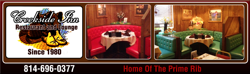 Home - East Freedom, PA - Creekside Inn Restaurant and Lounge