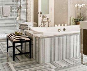 Granite or marble tiles