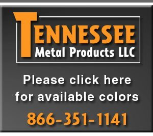 Color Chart | Sweetwater, TN | Tennessee Metal Products LLC | 866-351-1141
