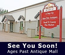 Collectibles - Minocqua, WI - Ages Past Antique Mall - books - See You Soon!