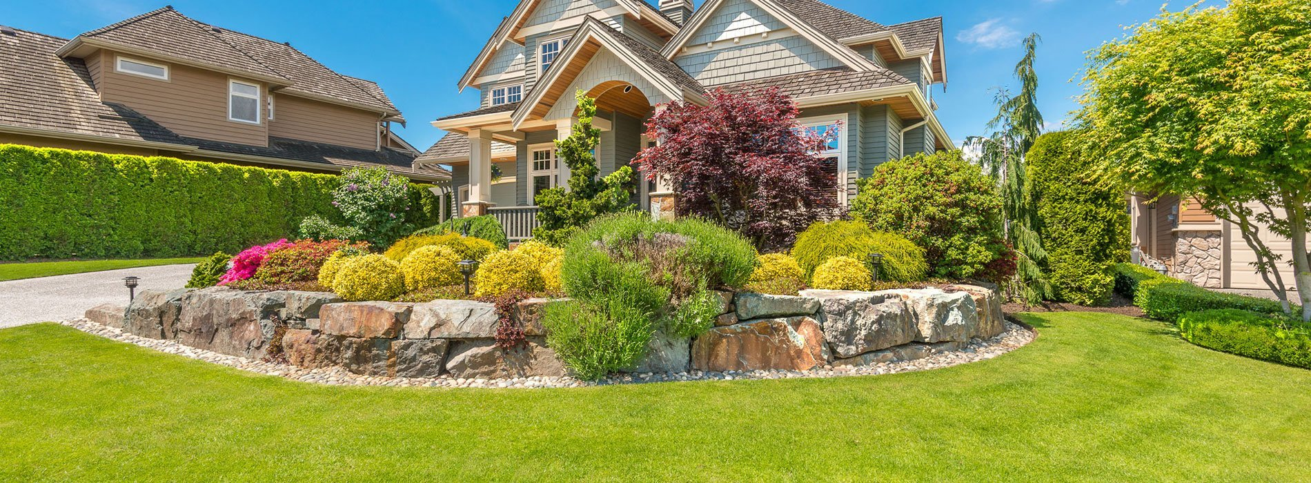 All pro landscape lawn care and landscaping atkinson nh for Professional landscaping service